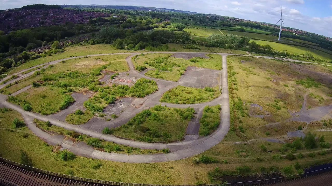 Bennerley Viaduct From Above - Hubsan H501s картинки