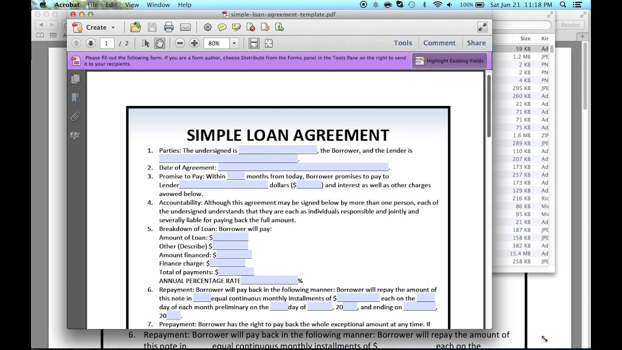 How to Write a Legal Document for Money owed - YouTube