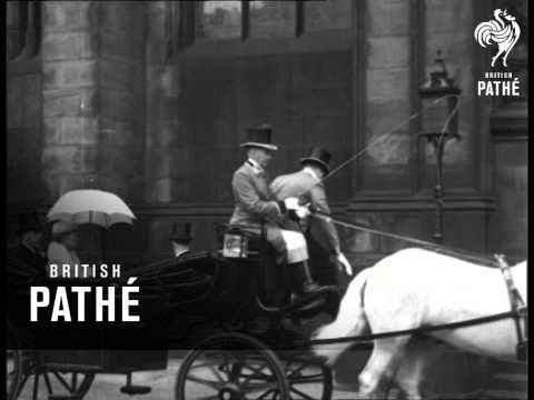 Their Majesties In Edinburgh Aka Their Majesties At St. Giles' Cathedral (1934)