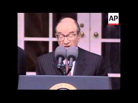 USA: ALAN GREENSPAN ON TRADE TIES WITH CHINA