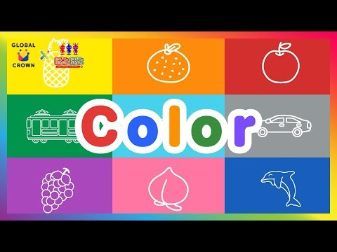 Learn Colors for Kids Children Toddlers|幼児子供向け英語学習動画