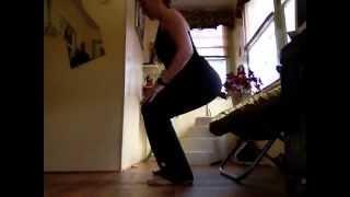 Chaise (squat) sans accessoires
