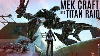 BEASTLY MEK CRAFT and Titan vs Titan Raid - Official Extinction PVP - ARK Survival