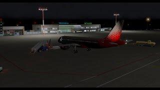 онлайн стрим NEW CRJ-200! летим МОСКВА-СИМФЕРОПОЛЬ  X-PLANE 10