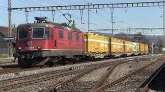 Trafic ferroviaire à Rupperswil