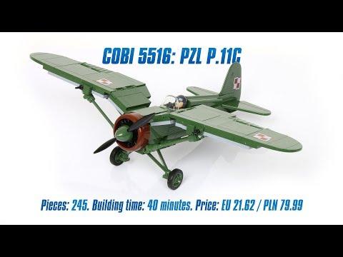 WWII Pzl P-23B Karas Neu Cobi 5522 Small Army
