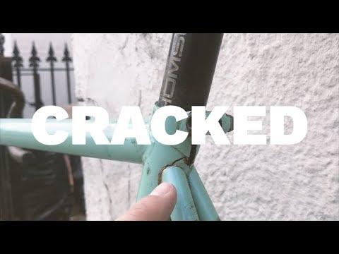 Fixing a cracked bike frame (my favorite bike)