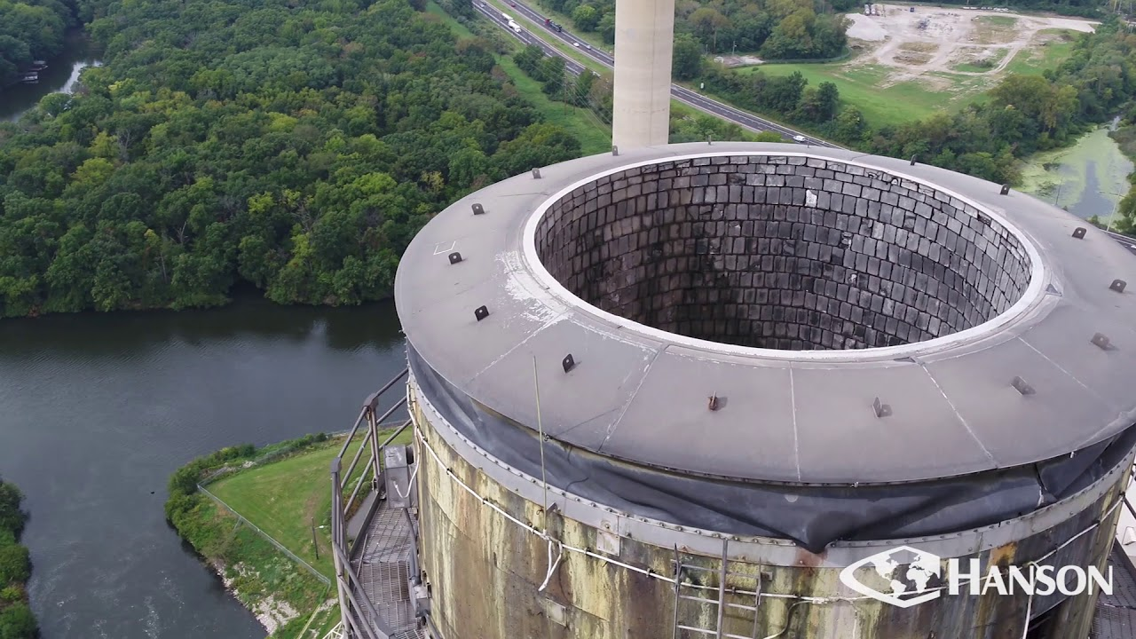 CWLP Power Plant Drone Observation Services | Hanson