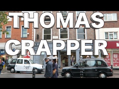 Thomas Crapper Invented the flushing toilet ? My Crapper story