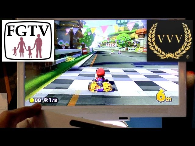 Mario Kart 8 with Professional F1 Motorsport Commentry from Alan Boiston