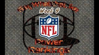 Week 9 Top 10 NFL Power Rankings