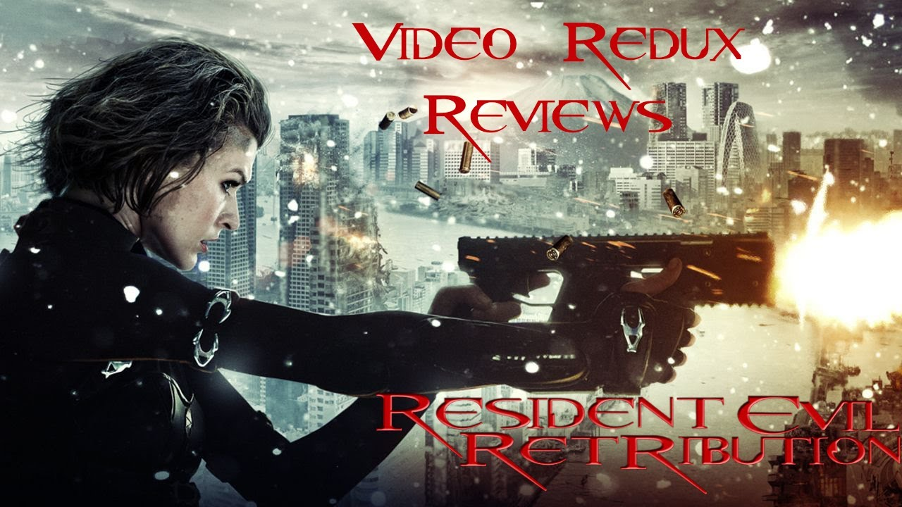 resident evil retribution 2012 poster