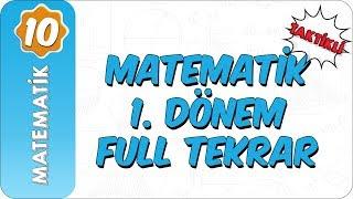 10. Sınıf Matematik  Taktiklerle 1. Dönem Full Özet