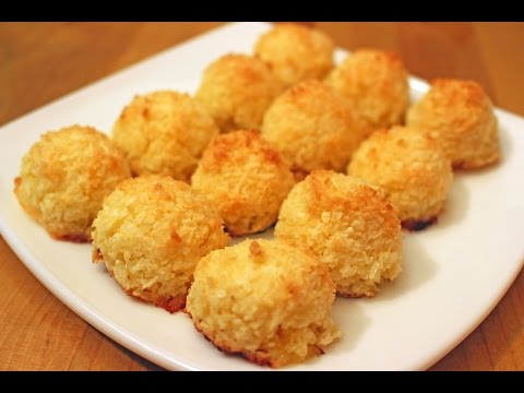 Кокосовое печенье без муки (Coquitos) - Готовим вкусно и красиво