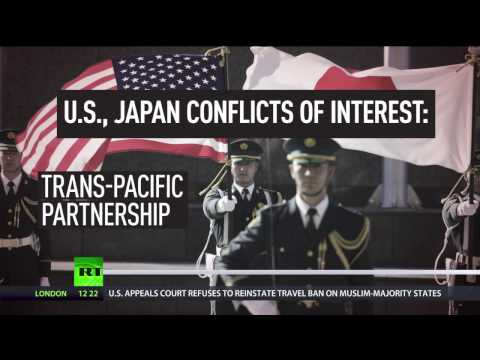 TPP & US base on Okinawa: Conflict of interest looms over Japanese PM's visit to America