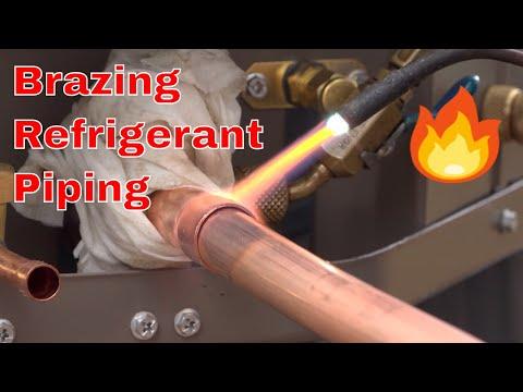 HVAC Installation: Brazing Refrigerant Lines