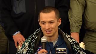 Expedition 50 Crew Receives a Warm Welcome in Kazakhstan