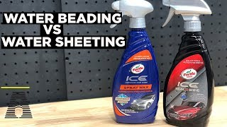 TURTLE WAX SEAL N SHINE VS TW SPRAY WAX: WHICH ONE BEADS AND SHEETS BETTER?