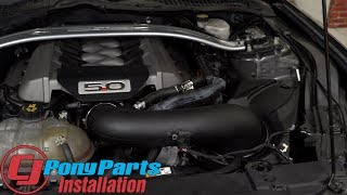 2015-2017 Mustang GT Holley iNTECH Cold Air Intake Kit Installation