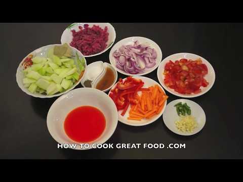 Paano magluto Ginisang Sayote Giniling na Baka recipe Pinoy Minced beef Filipino Tagalog