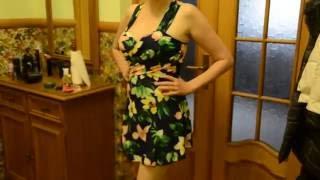 видео Цельный купальник платье