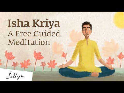 Isha Kriya: A Free Guided Meditation - Sadhguru