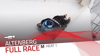 Altenberg | BMW IBSF World Cup 2018/2019 - Men's Skeleton Heat 1 | IBSF Official
