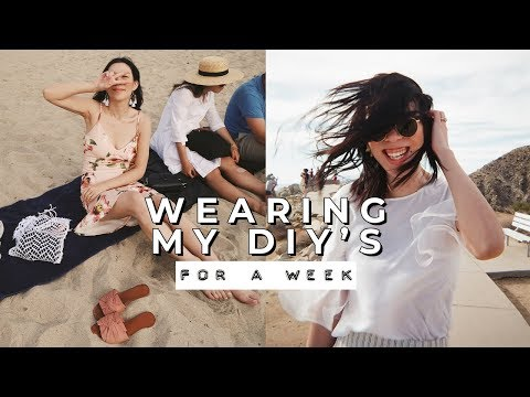 I try wearing my DIY's for a week | WITHWENDY