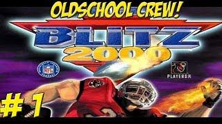 NFL Blitz 2000! Oldschool Crew Part 1 - YoVideogames