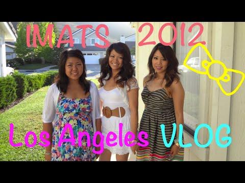 ♡IMATS 2012 Los Angeles VLOG♡