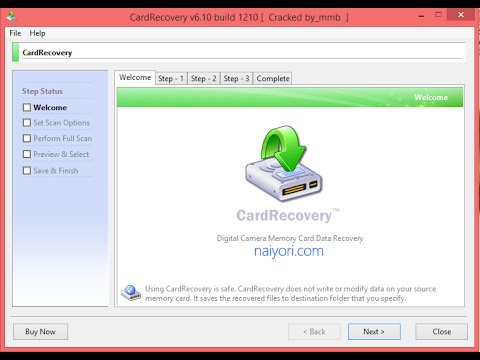 Card recovery by Card Recovery 6 10 build!