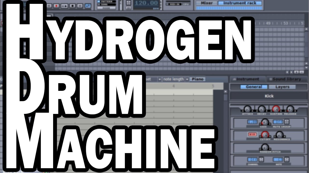 hydrogen drum machine free drum programming for windows mac and linux youtube. Black Bedroom Furniture Sets. Home Design Ideas