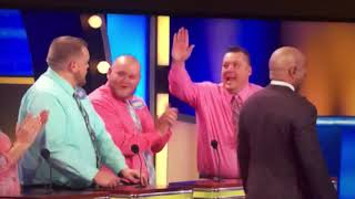Funny Family Feud Fail - Missed High Five