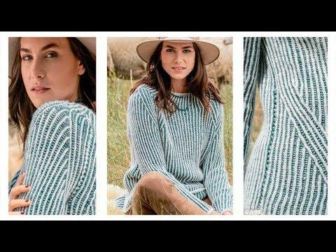 Английский Пуловер Спицами - 2019 / English Pullover Knitting Needles
