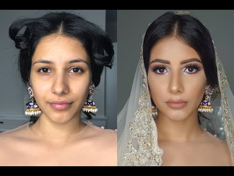 Indian | Bollywood | South Asian Makeup From Start To Finish -@Blueroseartistry