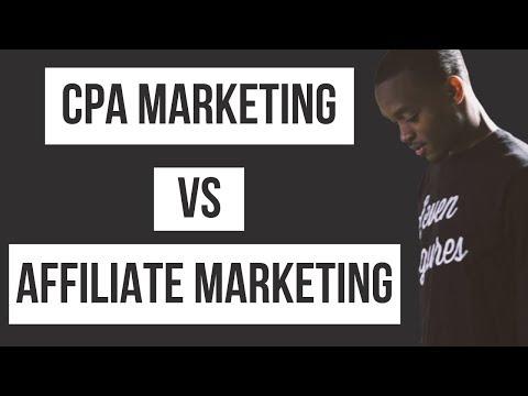 🤔 CPA Marketing vs Affiliate Marketing: Best Way To Make Money Online in 2019 (Beginner's Guide)