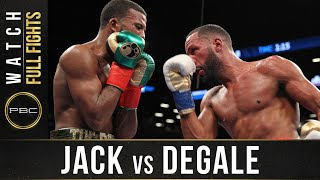 Jack vs DeGale FULL FIGHT: January 14, 2017 - PBC on Showtime
