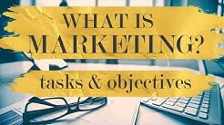 What is marketing? Objectives and Definitions.