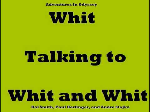 Mr. Whittaker talking to Whit and Whit Adventures in Odyssey