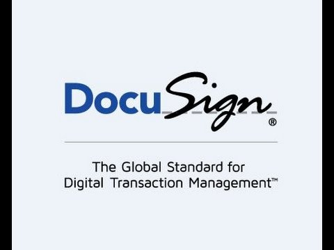 How to use Docusign electronic signatures
