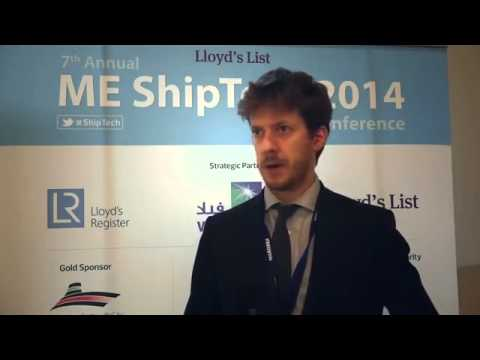 Christian Smith, Naval Architect from University College London on ME ShipTech Conference 2014