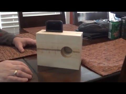 AMAZING PASSIVE IPHONE SPEAKER/AMPLIFIER