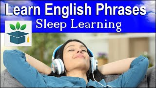 Learn English Phrases ★ Sleep Learning ★ Everyday English Conversation (Subtitles)