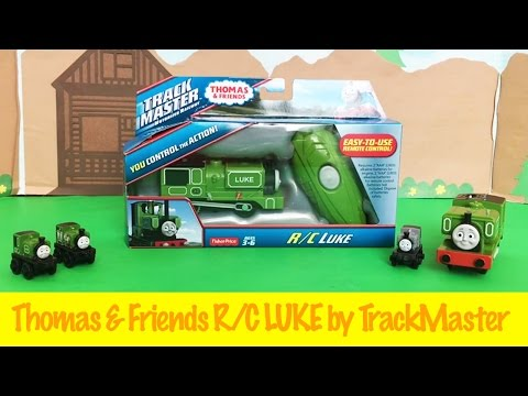 Thomas and Friends Remote Control Luke by Trackmaster Kids Toy
