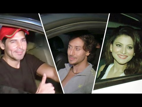 Baaghi Movie SCREENING | Urvashi Rautela | Tiger Shroff