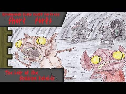Kruggsmash Plays Dwarf Fortress: Short Forts - The Lair of the Skulking Kobolds