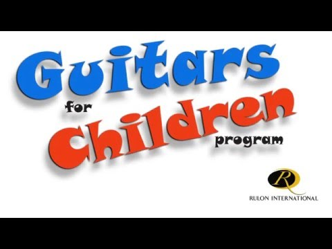 David Fisch - GOOD NEWS: Company Uses Scrap Wood To Build Toy Guitars For Sick Kids