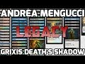 Channel Mengucci - Legacy Grixis Death's Shadow (Deck Tech & Match 1)