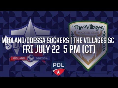 MIdland / Odessa Sockers vs. The Villages SC