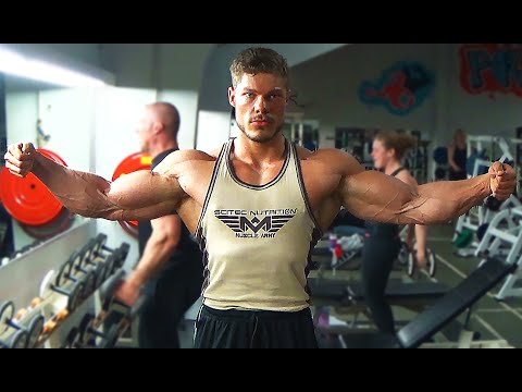 MASSIVE Tri's and Bi's Workout | SUPPLEMENTS | Old-School Bodybuilding